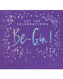 Let the Celebrations Be-Gin!
