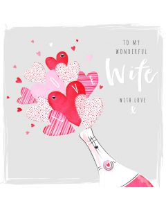 To my wonderful Wife, with Love