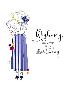 Wishing you a very Happy Birthday Card