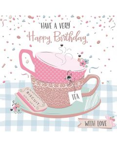 Have a very Happy Birthday, With Love Card
