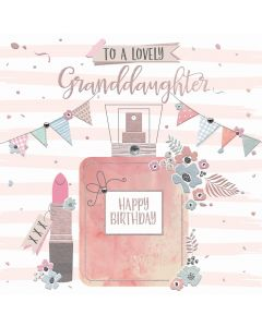 To a lovely Granddaughter, Happy Birthday