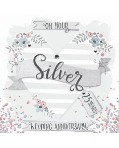 On your Silver Anniversary, 25 Years