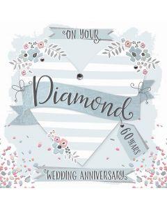 On your Diamond Anniversary, 60 Years