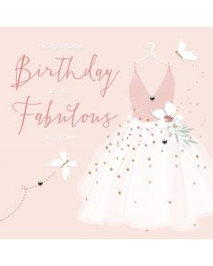 Hope your Birthday is as Fabulous as you card