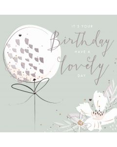 Its your Birthday, have a lovely day card