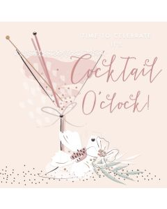 Time to Celebrate, its Cocktail o'Clock