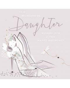 To a wonderful Daughter, wishing you a very Happy Birthday