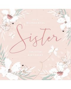 To a wonderful Sister on your Birthday