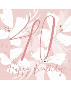 Happy Birthday, 40