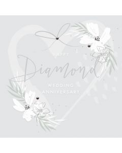 Happy Diamond wedding anniversary
