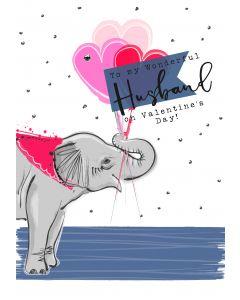 To my wonderful Husband on Valentine's Day