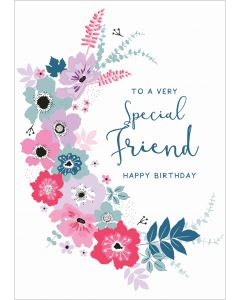 To a very special Friend, Happy Birthday