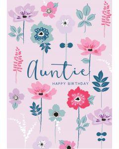 Auntie, Happy Birthday