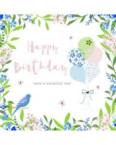 Happy Birthday - have a wonderful day card