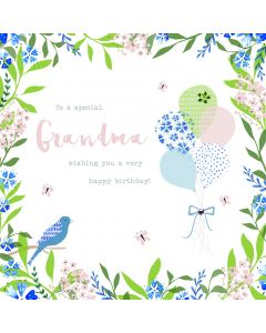 To a special Grandma, wishing you a very Happy Birthday Card