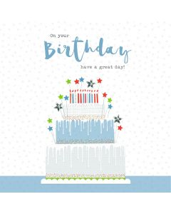 On your Birthday, have a great day card