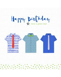 Happy Birthday - have a great day card