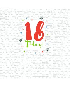 18 Today Card
