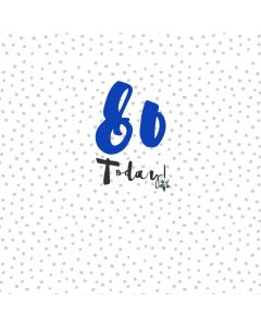 80 Today Card