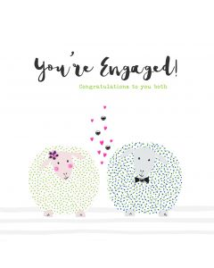 You're Engaged! Congratulations to you both card