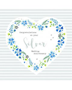 Congratulations on your Silver Wedding Anniversary