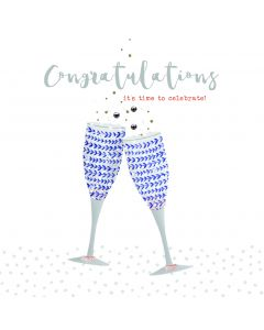 Congratulations, it's time to celebrate card