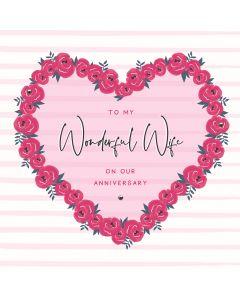 Happy Anniversary to my Wonderful Wife