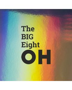 The BIG Eight OH - Holographic Birthday Card