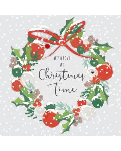 With Love at Christmas Time Card