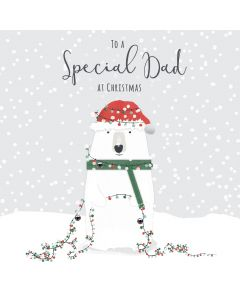 To a Special Dad at Christmas Card