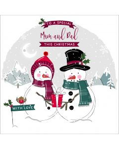 To a special Mum and Dad this Christmas