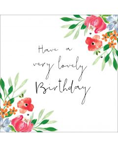 Have a very lovely birthday!