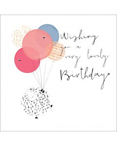 Wishing you a very lovely Birthday!