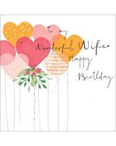 To my wonderful Wife, Happy Birthday