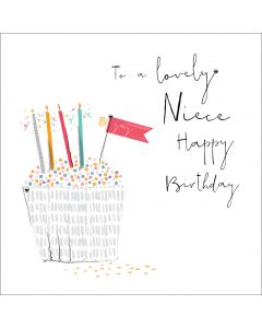 To a lovely Niece, Happy Birthday