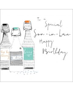 To a special Son-in-Law, Happy Birthday