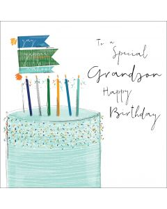 To a special Grandson, Happy Birthday