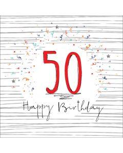 Happy Birthday - 50