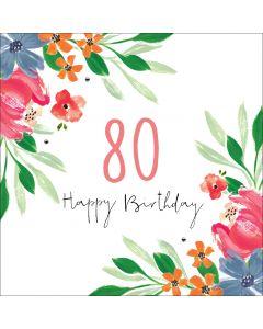 Happy Birthday - 80