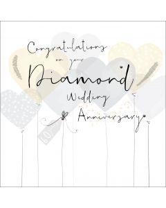 Congratulations on your Diamond Wedding Anniversary
