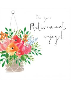 On your Retirement, Enjoy!