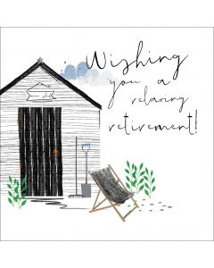 Wishing you a relaxing retirement!