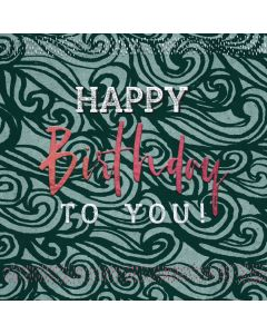 Happy Birthday to You - Mens Birthday Card