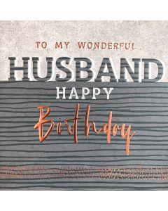 To my wonderful Husband, Happy Birthday
