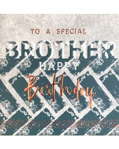 To a special Brother, Happy Birthday