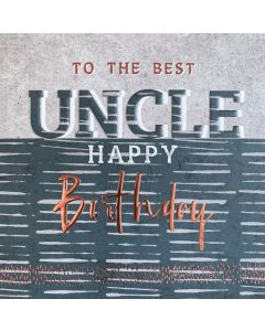 To the best Uncle, Happy Birthday