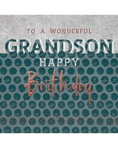 To a wonderful Grandson, Happy Birthday