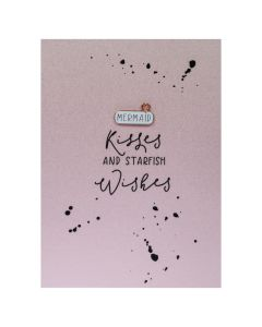 MERMAID Kisses and Starfish wishes - Enamel Pin Card