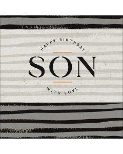 Happy Birthday Son, with Love