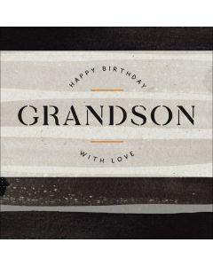 Happy Birthday Grandson, with Love